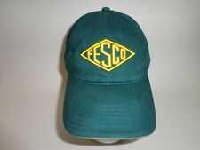 FESCO PETROLEUM ENGINEERS CAP HAT GREEN OIL DRILLING CAP HAT OIL WELL CAP HAT
