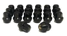 14x1.5 Black OEM Factory Style Lug Nuts 2015-2020 Ford Mustang GT GT350 Edge