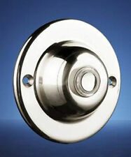 Byron 4260CR Wired Non Illuminated Surface Mounted Push Button Chrome 63mm