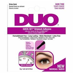 Duo Quick-Set Striplash Adhesive - Dark Tone Brand New