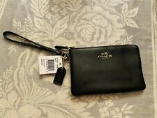 Coach Wristlet New With Tags F54626 Imblk
