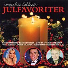 CD Weihnachten Jul  SCHWEDISCH, Svenska Folkets Julfavoriter, Julsanger NEU NEW