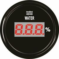 Digital Water Level Gauge 52mm LCD Water Level Meter 240-33ohm for Car Truck 12V