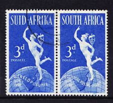 SOUTH AFRICA 1949 SG130b 3d lake in E Africa variety - very fine used. Cat £55