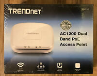 NEW TRENDnet Wireless Access Point TEW-821DAP AC1200 Dual Band PoE