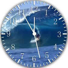 Wave Surfer Surfing Frameless Borderless Wall Clock Nice For Gifts or Decor W282