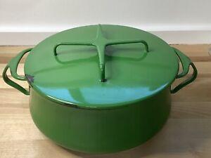 Dansk Kobenstyle IHQ Denmark 3 Qt Emerald Green Enamel Covered Casserole Pot