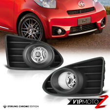 12-15 Scion iQ [FACTORY STYLE] Euro Clear Fog Light Assembly Kit w/ switch+wires