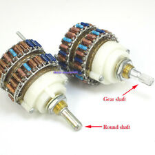 1pcs  24 Steps DALE 2 channel (stereo) shunt type Volume potentiometer  2X 100K