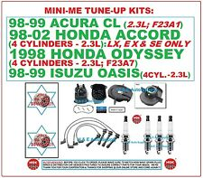 TUNE UP KITS 98-02 CL ACCORD ODYSSEY OASIS 2.3L: Spark Plug Wire Set Cap & Rotor