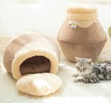 New Cute Pet Dog Cat House Beds Tent Sofa Bed Indoor House Kitty