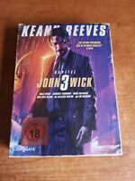 John Wick 3 Keanu Reeves bluray retro Vhs edition numbered numerata