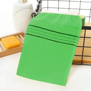 4pcsDouble-sided Towel Korean Exfoliating Bath Washcloth Body Scrub Shower TowL~