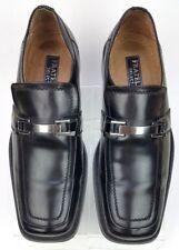 Fratelli Select Black Leather Horsebit Loafer Dress Moc 2367-01 Men's 9.5 M