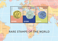 Guyana - 2014 - Rare Stamps Of the World - Sheet Of 3 - Mnh