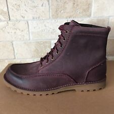 UGG FALLBROOK CORDOVAN LEATHER ANKLE WORK CASUAL BOOTS SHOES SIZE US 9.5 MENS