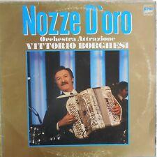 VINILE LP 33 GIRI RPM NOZZE D'ORO VITTORIO BORGHESI ITALY 1982 LP S 40 167