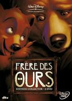 DVD ☆ FRÈRE DES OURS EDITION COLLECTOR 2 DVD ☆ WALT DISNEY ☆ OCCASION