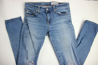 AG Adriano Goldschmied Womens The Stilt Cigarette Leg Jeans 27R