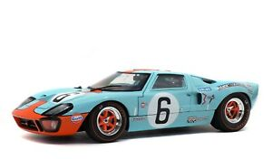 1:18 1969 Le Mans 24 Hour Winner -- #6 Ford GT40 MK1 -- Solido