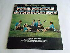 Paul Revere & The Raiders Here They Come LP 1965 Columbia Mono Vinyl Record