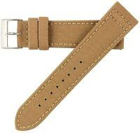 20mm MS850 Mens Sand Khaki Tan Cordura Canvas Watch Band Strap Hadley-Roma