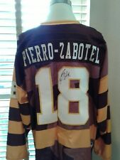 Allen Americans Casey Pierro-Zabotel Autographed Stiched Jersey Size 56   P11371