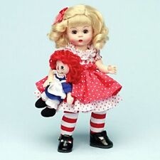 "Madame Alexander 8"" wendy Doll Raggedy Ann & me storyland Collection 2006 new"