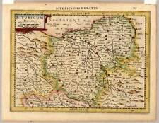 Biturigum Ducatus-Bourges-Frankreich-France-Karte-Map-Mercator-Kaerius 1632