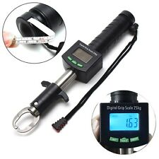 25kg/55lb Scale Digital Stainless Steel Fishing Grip Fish Lip Gripper Grabber