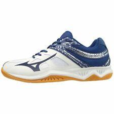 Mizuno Thunder Blade 2 Blanco Blueprint Voleibol Squash Interior Tribunal Zapatillas