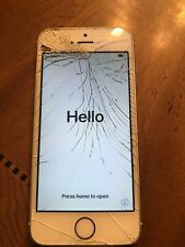 Apple iPhone 5s - 16GB - Silver Bad ESN For Parts Only A1533
