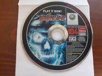 RARE Official Xbox Game Disc #104 Wolfenstein Xbox 360