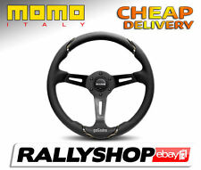 Momo Gotham Steering Wheel, Leather, CHEAP DELIVERY WORLD!  (Race,Rally,Tuning)