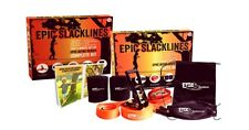 2 Epic Slacklines - 50ft X 2in Intro Series Pro-grade Complete Slackline Kit
