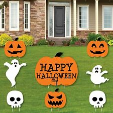 Big Dot of Happiness Trick or Treat - Yard Sign & Outdoor Lawn Decorations -.