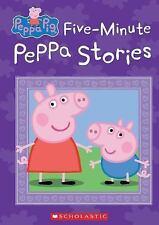 Peppa Pig: Five-Minute Peppa Stories (Peppa Pig) (2016, Hardcover)