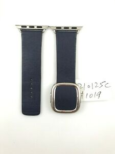 Original Apple Watch Series 7 6 Modern Buckle leather Band 38mm 40mm 41MM Small