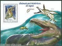 GUINEA BISSAU 2014  PRE HISTORIC WATER ANIMALS  SOUVENIR SHEET MINT NH