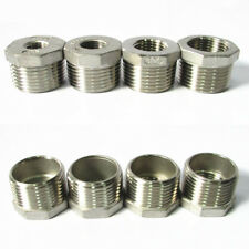 304 Stainless Steel Pipe Fitting Hex Bushing Reducing Reducer Male-Female BSPT