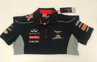 Pepe Jeans Red Bull Racing Formula One Team Polo Shirt Womens Large - New w/Tags