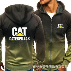 Caterpillar Power Fans Hooded Hoodie Fashion Sweatshirt Jacket Autumn Coat Tops