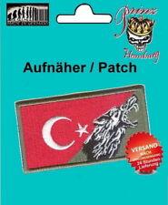 Türkei Flagge Aufnäher Patch Emblem Türkei Bonkurt Osmanen 100% gestickt