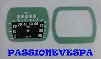 FONDO SCALA A 5 FINESTRE CONTACHILOMETRI VESPA 125 FARO BASSO VM VN VL V30 V33