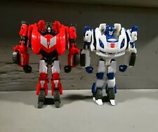 Transformers Fall Of Cybertron Generations JAZZ and Sideswipe Foc Deluxe Lot