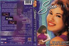 Selena Quintanilla ORIGINAL 2003 The Last Concert DVD #B