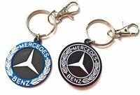 Portachiavi Mercedes Benz classe a b c amg Emblema in Gomma doppia faccia