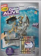 Crayola Color Alive Action Coloring Pages - Skylanders by Crayola