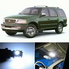16 x Xenon White LED Lights Interior Package Kit For Ford Expedition 97-14 K146
