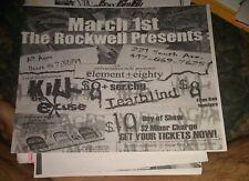 Element Eighty * Rare Concert Flyer * Springfield, Mo 3/1/2005